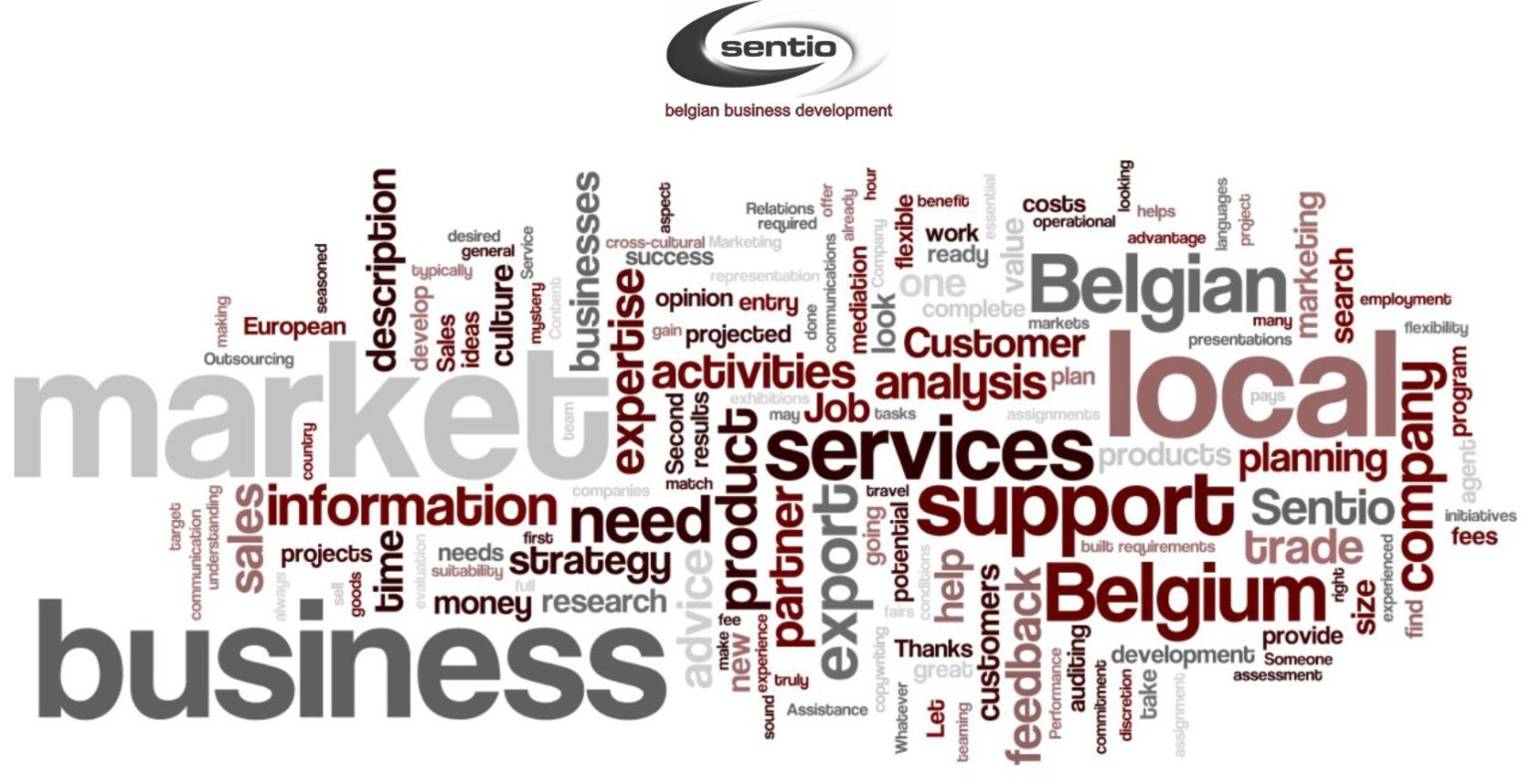 sentio belgian business development